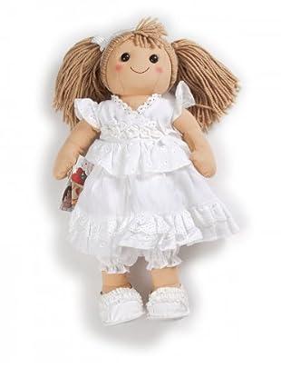 My Doll Stoffpuppe 52 cm (weiß/honig)