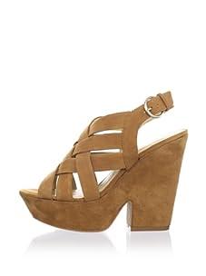 Luxury Rebel Women's Rea Wedge Sandal (Tan)