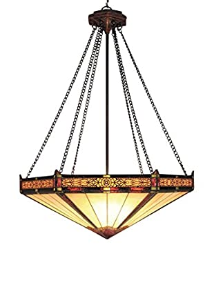 Artistic Lighting Filigree 3-Light Pendant, Aged Bronze