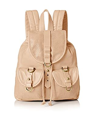 Joelle Hawkens Women's Small Rachel Perforated Backpack, Sand