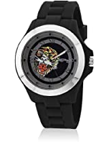 Eh 1116 Bk Black/White Analog Watch