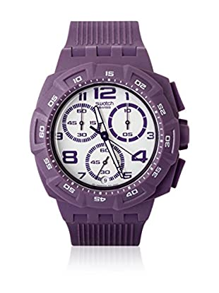 Swatch Quarzuhr Unisex Unisex PURPLE FUNK SUIV400 42.5 mm