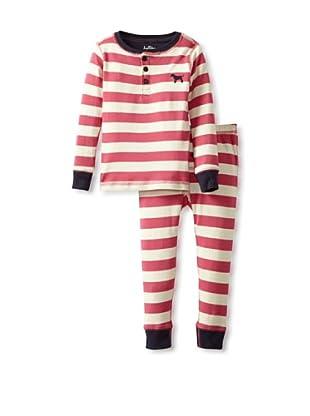 Hatley  Pijama Orcómeno (Rosa / Crudo)