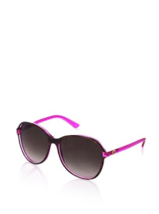 Gucci Women's Sunglasses (Brown/Fuchsia)