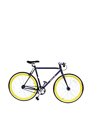 Galaxie Fixed Gear Bike, Gray/Yellow, 54cm