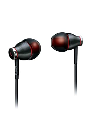 Philips SHE9000/10 - Auriculares intraurales (jack 3,5 mm, metálicos) color gris