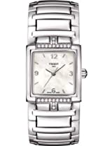 Tissot T-Evocation Stainless Steel Diamond Ladies Watch T0513106111700