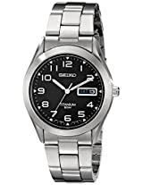 Seiko Men's SGG711 Quartz Titanium Case and Bracelet Watch