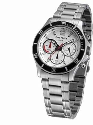 Time Force TF3191M02M - Reloj de caballero de cuarzo, correa de acero inoxidable