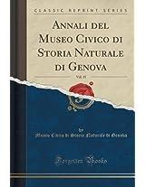 Annali del Museo Civico Di Storia Naturale Di Genova, Vol. 15 (Classic Reprint)