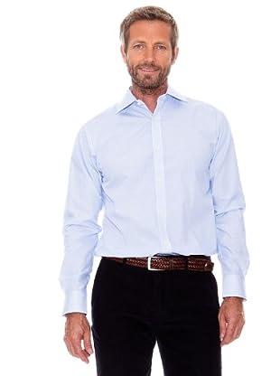 Cortefiel Camisa Rayas Finas (Azul)