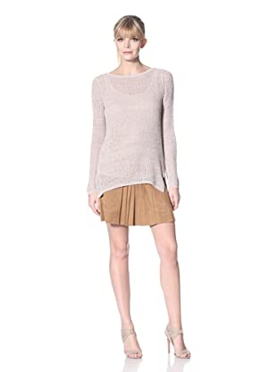 Zero Degrees Celsius Women's Loose Knit Sweater (Nude)