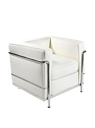 Manhattan Living Cube LC2 Petit Chair, White