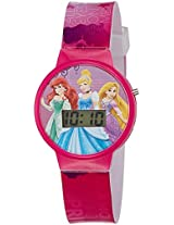 Disney Digital Multi-Colour Dial Girl's Watch - DW100467