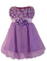 Faye Spotted in Purple Bubble Dress 9 -10 Years