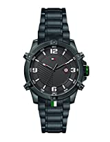 Tommy Hilfiger Analog Black Dial Men's Watch - TH1790966J