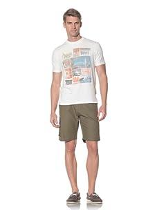 Fresh Men's Printed T-Shirt (Off white)