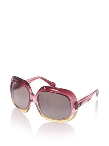 MARNI Women's MA123S Sunglasses, Shaded/Red