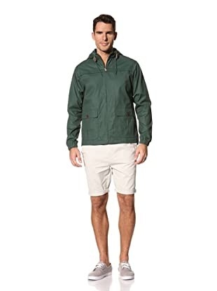 FARAH Men's The Buxt Hooded Coat (Ivy)