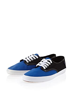 Vans E-Street VKWO5QM Herren Halbschuhe (Blau (classic blue/black))