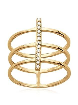 L'ATELIER PARISIEN Ring 2241011A vergoldetes Metall 18 kt DE 52