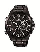 Casio Edifice Analog Black Dial Men's Watch - EX247