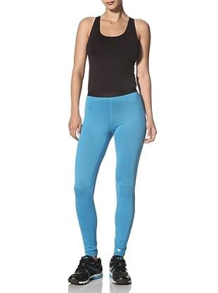 New Balance Women's Miss Long Jane Tights (blue jewel)