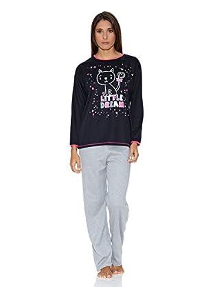 Kumy Pijama Little Dream (Negro)