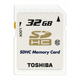 TOSHIBA SDHCJ[h Class10 32GB SD-AX32GWF [tXg[Vt[pbP[W(FFP)]