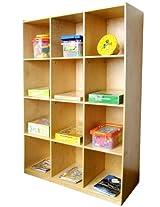 A+ ChildSupply 12 Cubbies cabinet