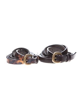 Springfield Cinturones Pack Finos (negro)