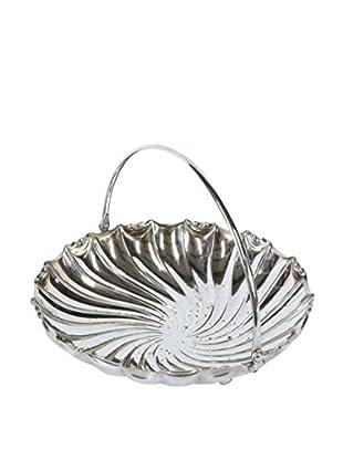 Silver Plate Bread Bowl