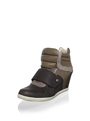 Koolaburra Women's Charlie Fashion Sneaker (Coffee)