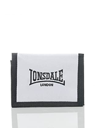Lonsdale Portafoglio Kashgar (Bianco/Nero)