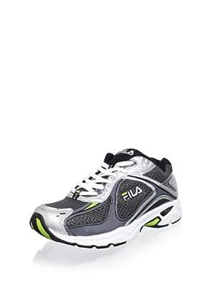 Fila Men's Trexa Lite Sneaker (Castlerock/Black/Lime)