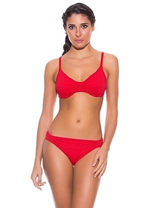 Anny & Co Bikini Pascua (Rojo Carmín)