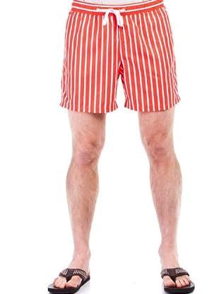 Cortefiel Bañador Rayas (Rojo)
