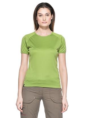 Salewa Camiseta Sporty Dry W (Verde)