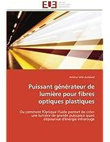 Puissant Generateur de Lumiere Pour Fibres Optiques Plastiques (Omn.Univ.Europ.)