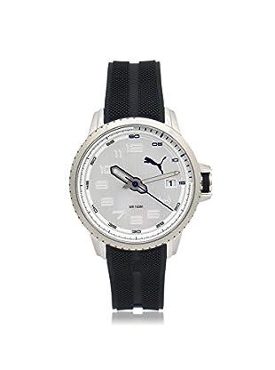 Puma Men's PU103281005 Black/Silver Stainless Steel Watch