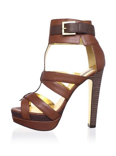 Ted Baker Women's Calluna Platform Sandal (Brown/Dark Brown)