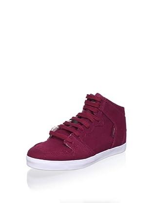 C1RCA Women's 99 Slim Vulc Sneaker (Rumba Red)