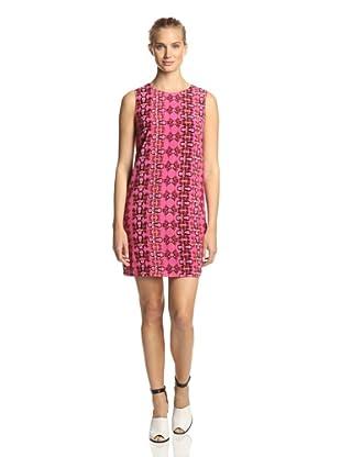 M Missoni Women's Printed Silk Dress (Pink Multi)