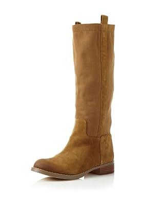 Matt Bernson Women's Roper Flat Long Boot (Safari)