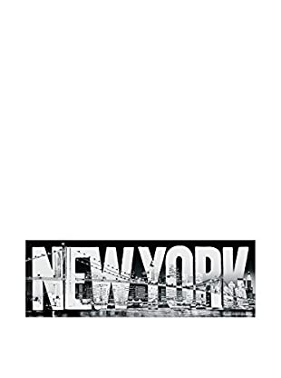 Artopweb Panel Decorativo New York Typeface