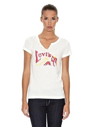 Levi´s T-Shirt V-Ausschnitt (cloud dancer)