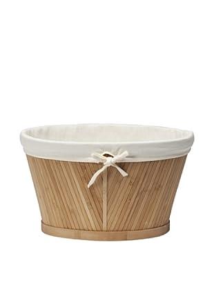 Creative Bath Small Oval Storage Basket, Natural