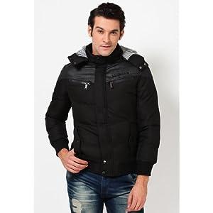 Jet Black Quilted Jacket