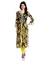 Atayant Women's Straight Salwar Suit Set