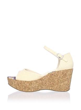 Rockport Women's Haylyn Wedge Sandal (Beige)